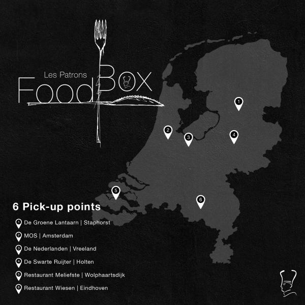 Les Patrons Foodbox afhaalpunten